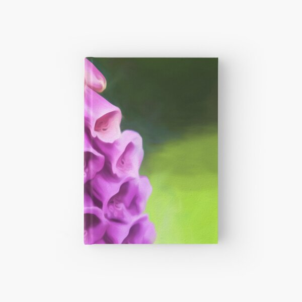 Purple Perfection (digital painting) Hardcover Journal