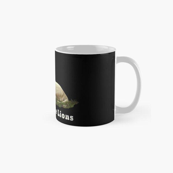 I Love White Lions Classic Mug