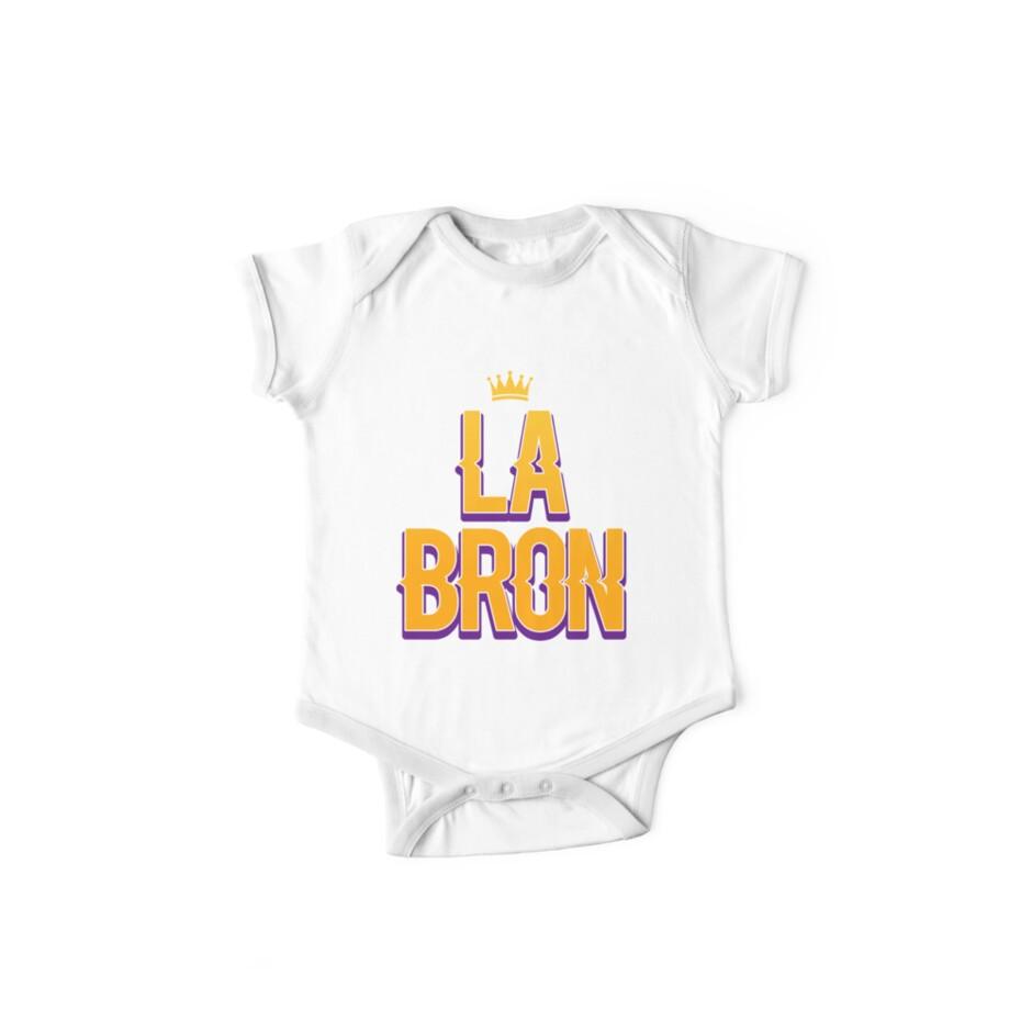 hot sale online e8ac8 9fe80 'Lebron James Logo Shirt ' Kids Clothes by JmoeGraphic