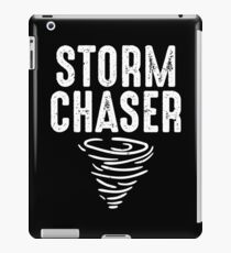 Cute Storm Chaser for Storm Lovers iPad Case/Skin