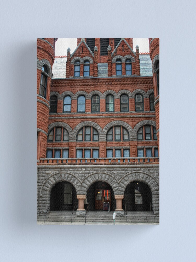 Alternate view of Old Red Courthouse Canvas Print