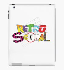 Retrosexual iPad Case/Skin