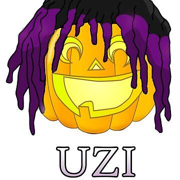 Lil Uzi Vert Pumpkin by FabloFreshcoBar