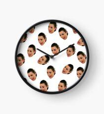 Crying Kim Kardashian Clock