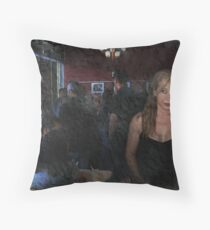 Alone In A Crowded Room Throw Pillow