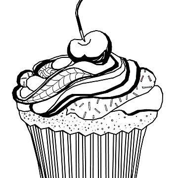 Cute Cupcake by ErinJain