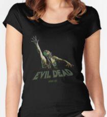 Evil Dead - Choke Join Us Women's Fitted Scoop T-Shirt