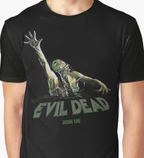 Evil Dead - Choke Join Us Graphic T-Shirt