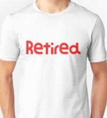Camiseta ajustada Retirado No es mi problema Más una gran idea regalo Retiro divertido regalo