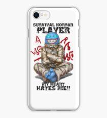 Gamer - Survival Horror Genre iPhone Case/Skin