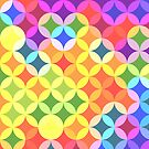 Overlapping Colorful Circles by Trevor Boyle