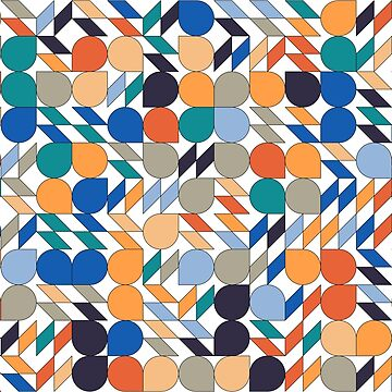 Abstract pattern colored by swisscreation