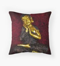 Blissful Mind Throw Pillow