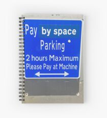 Pay By Space Spiral Notebook