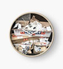 Rubbish Pile Clock