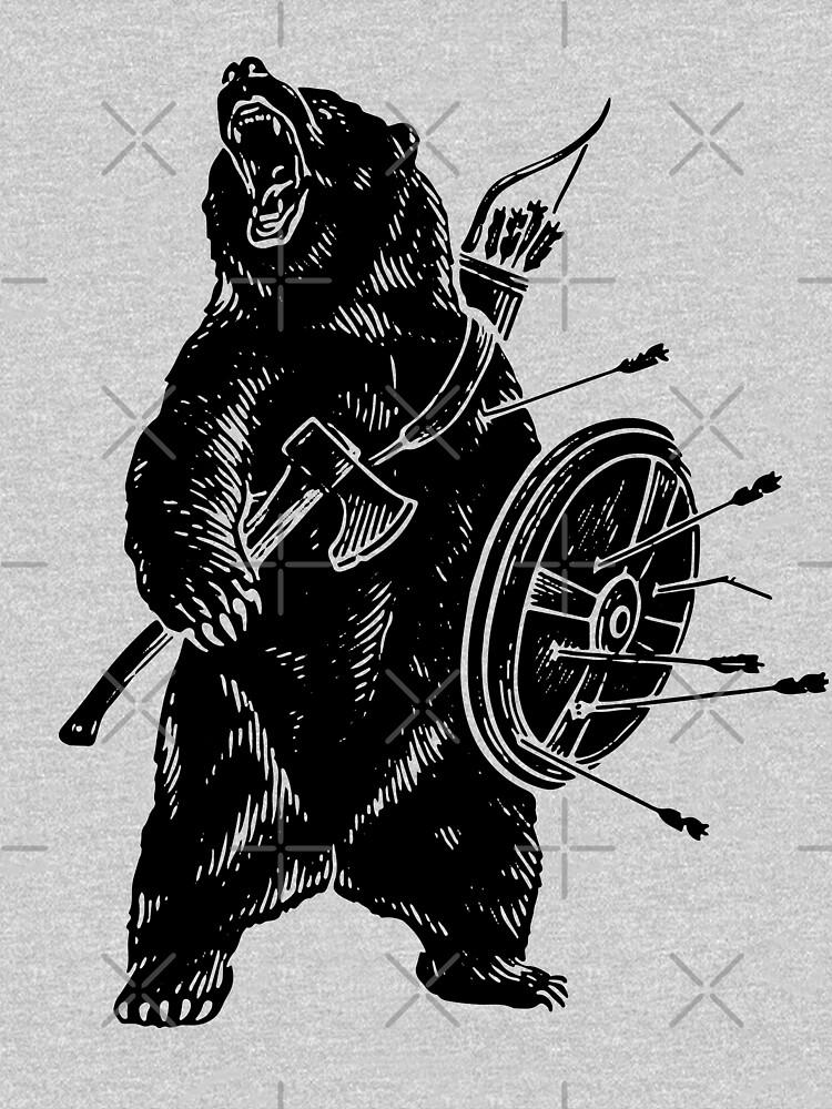Bear Warrior by biggeek