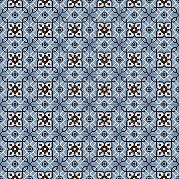Blue Tiles by artsandherbs