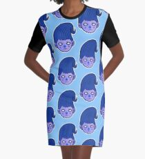 Blueshen Vector Art. Graphic T-Shirt Dress