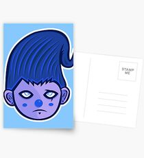 Blueshen Vector Art. Postcards