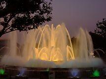The Magic Fountain, Barcelona (1) by Themis