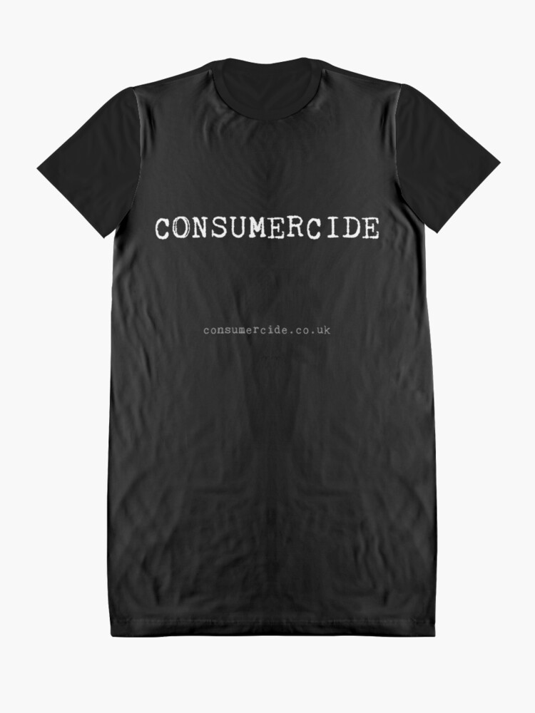 Alternate view of Consumercide Graphic T-Shirt Dress