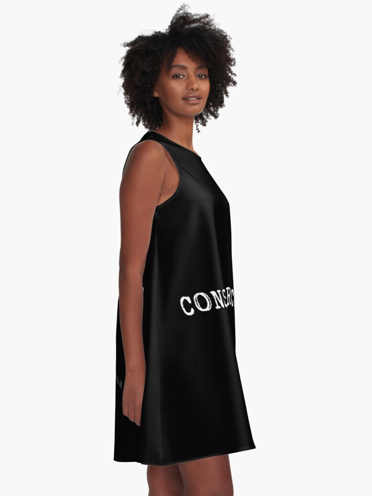 Alternate view of Consumercide A-Line Dress