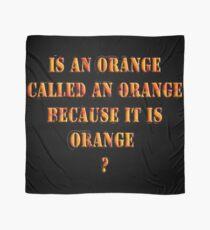 Oranges random question Scarf