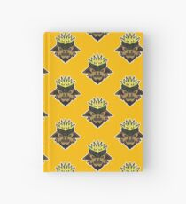 Corn Head Vector Art. Hardcover Journal