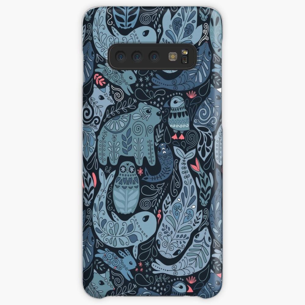 Arktische Tiere Hülle & Klebefolie für Samsung Galaxy