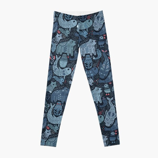 Arctic animals Leggings