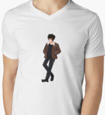 Nico Di Angelo Men's V-Neck T-Shirt