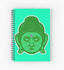 Buddha Vector Art Spiral Notebook