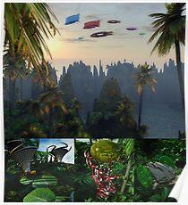 Calendar Cover: Planet Gloss Poster