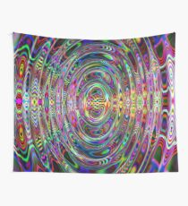 Futuristic Time Bubble Image Wall Tapestry