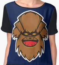 Chewbaba Vector Art Chiffon Top
