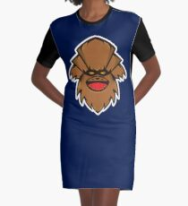 Chewbaba Vector Art Graphic T-Shirt Dress