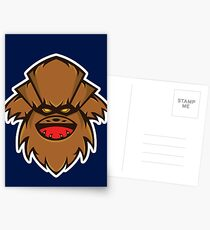 Chewbaba Vector Art Postcards