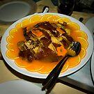 Roast Peking Duck with Orange Sauce by steppeland