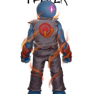 Gamer - Fighting Game Genre by Squatterloki