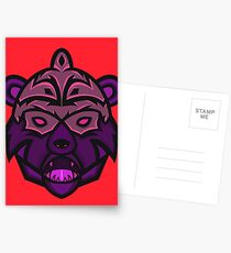 Gorgo Vector Art Postcards