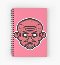 Vampire Zombie Vector Art Spiral Notebook