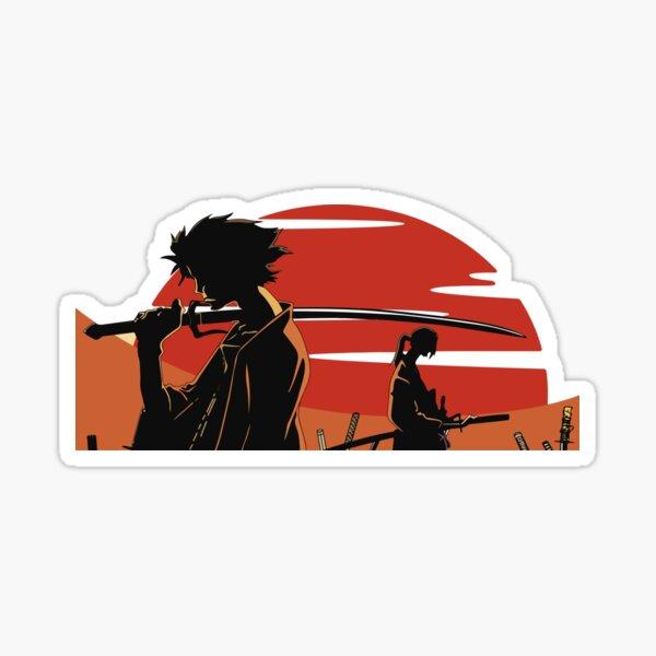 Jin et Mugen Sticker