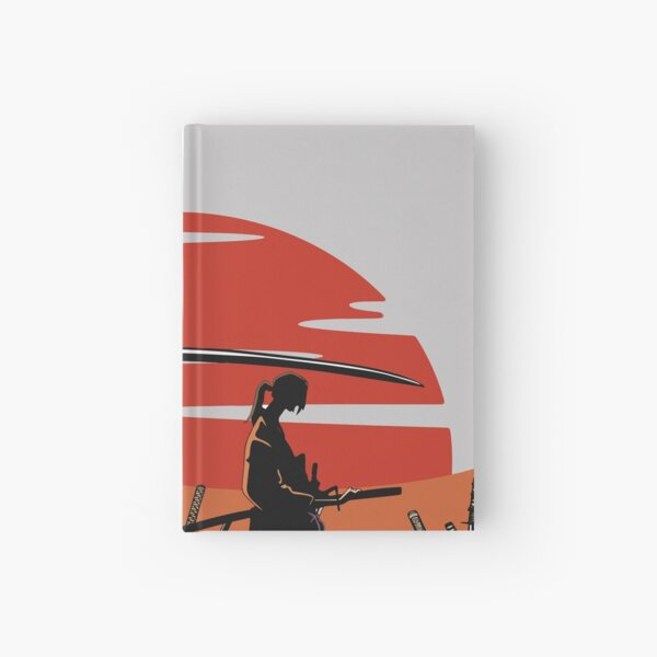 Jin and Mugen Hardcover Journal