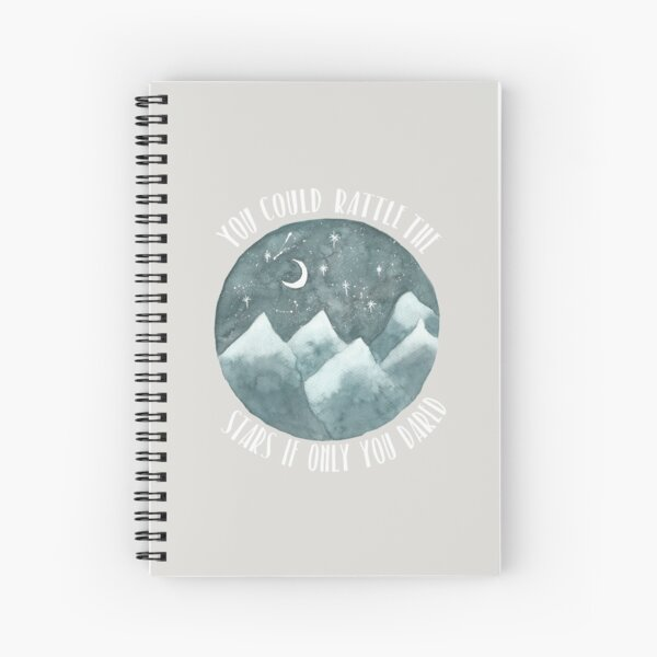 Rattle The Stars  Spiral Notebook