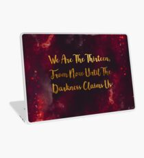 Until The Darkness Claims Us Laptop Skin