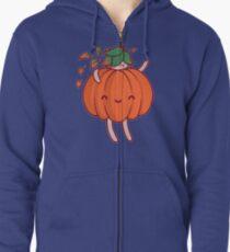 Pumpkin Sprite Zipped Hoodie