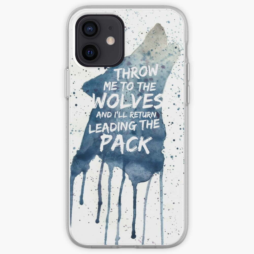 Throw Me To The wolves iPhone Case & Cover