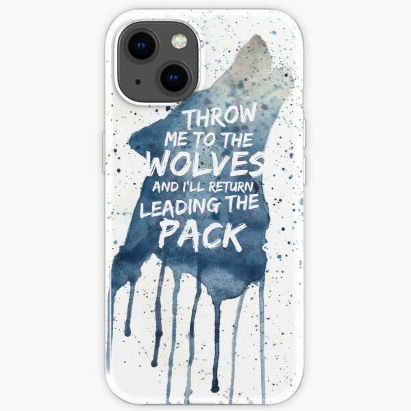 Throw Me To The wolves iPhone Soft Case