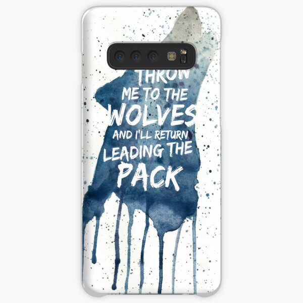 Throw Me To The wolves Samsung Galaxy Snap Case