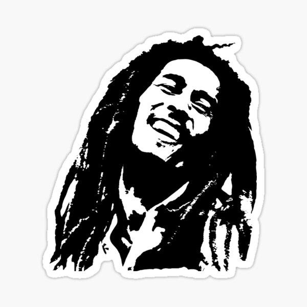 REGALOS Y RETRATOS de Bob the King of Reggae REGALOS PARA TI EN 2020 Pegatina